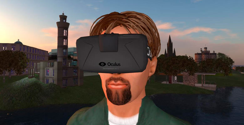 Second life VR